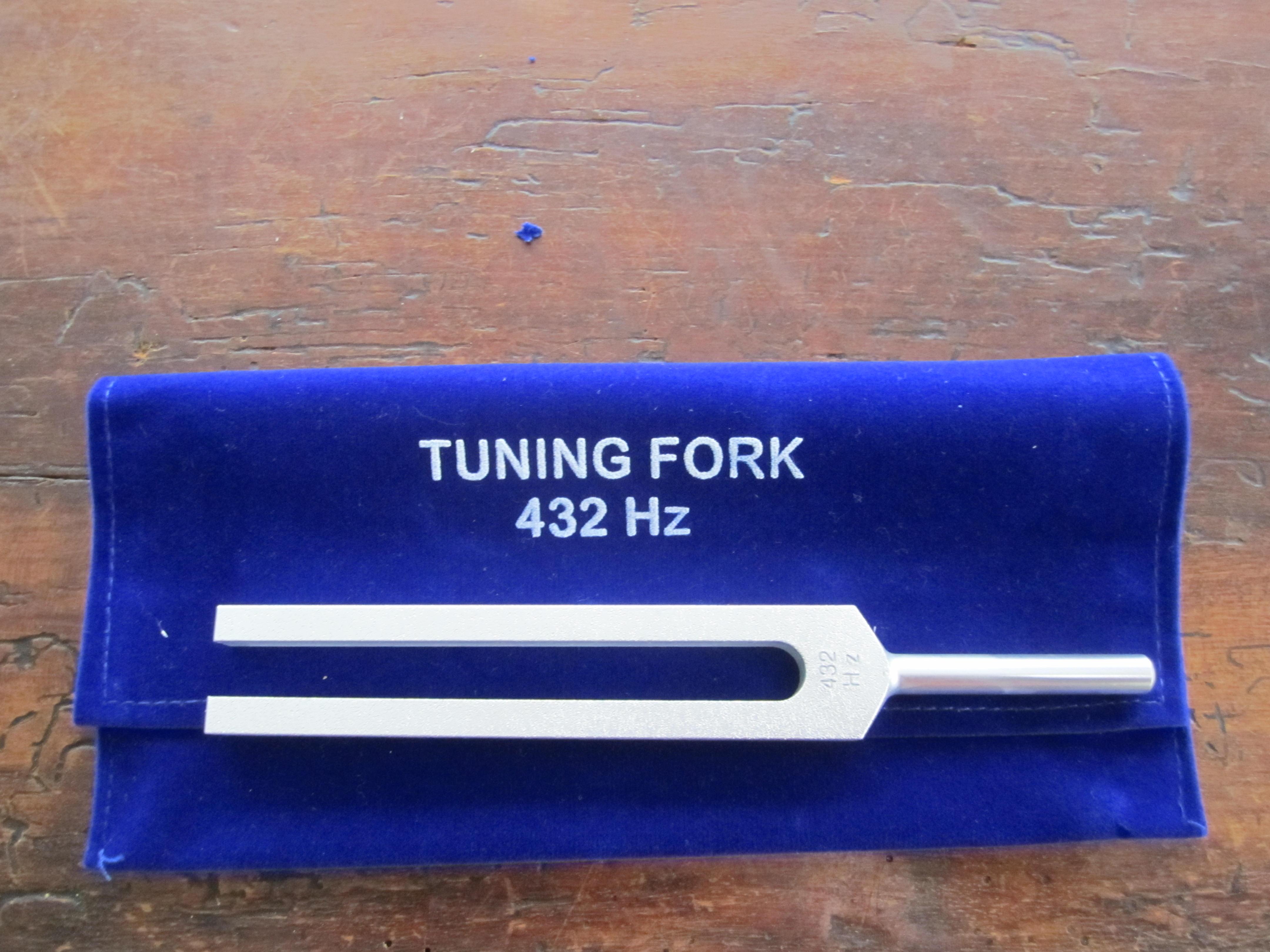 432 hz tuning fork. Black Bedroom Furniture Sets. Home Design Ideas