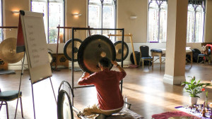 tony nec plays gongs