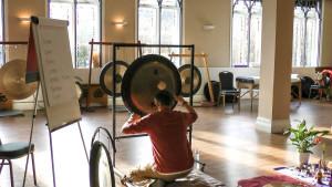tony nec plays gongs