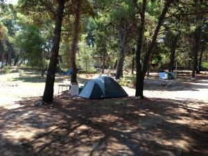 hotel korinjak campsite