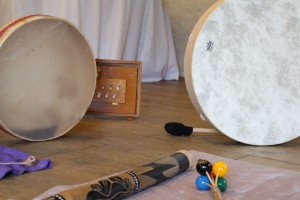 sound therapy with crystal singing bowls