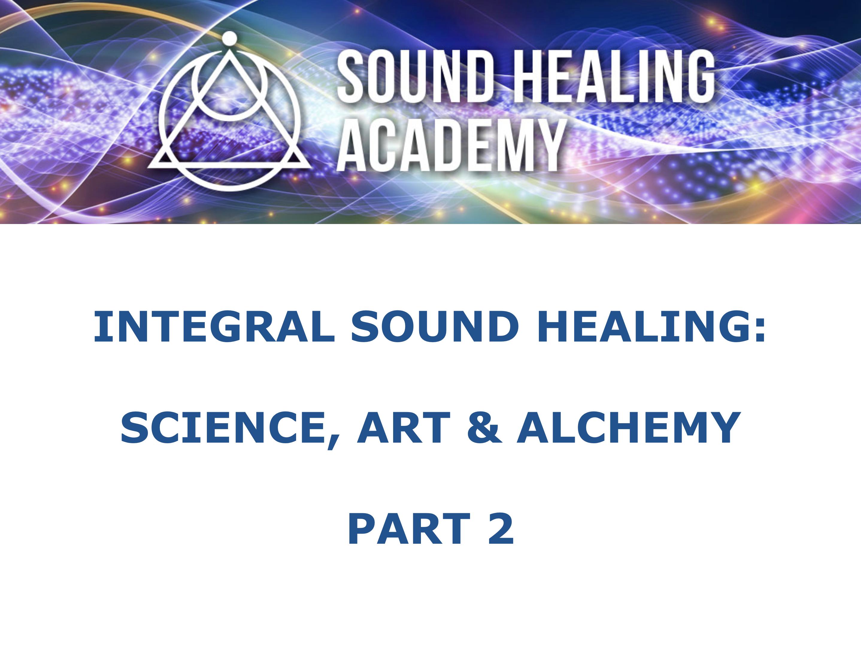 Integral Sound Healing 02